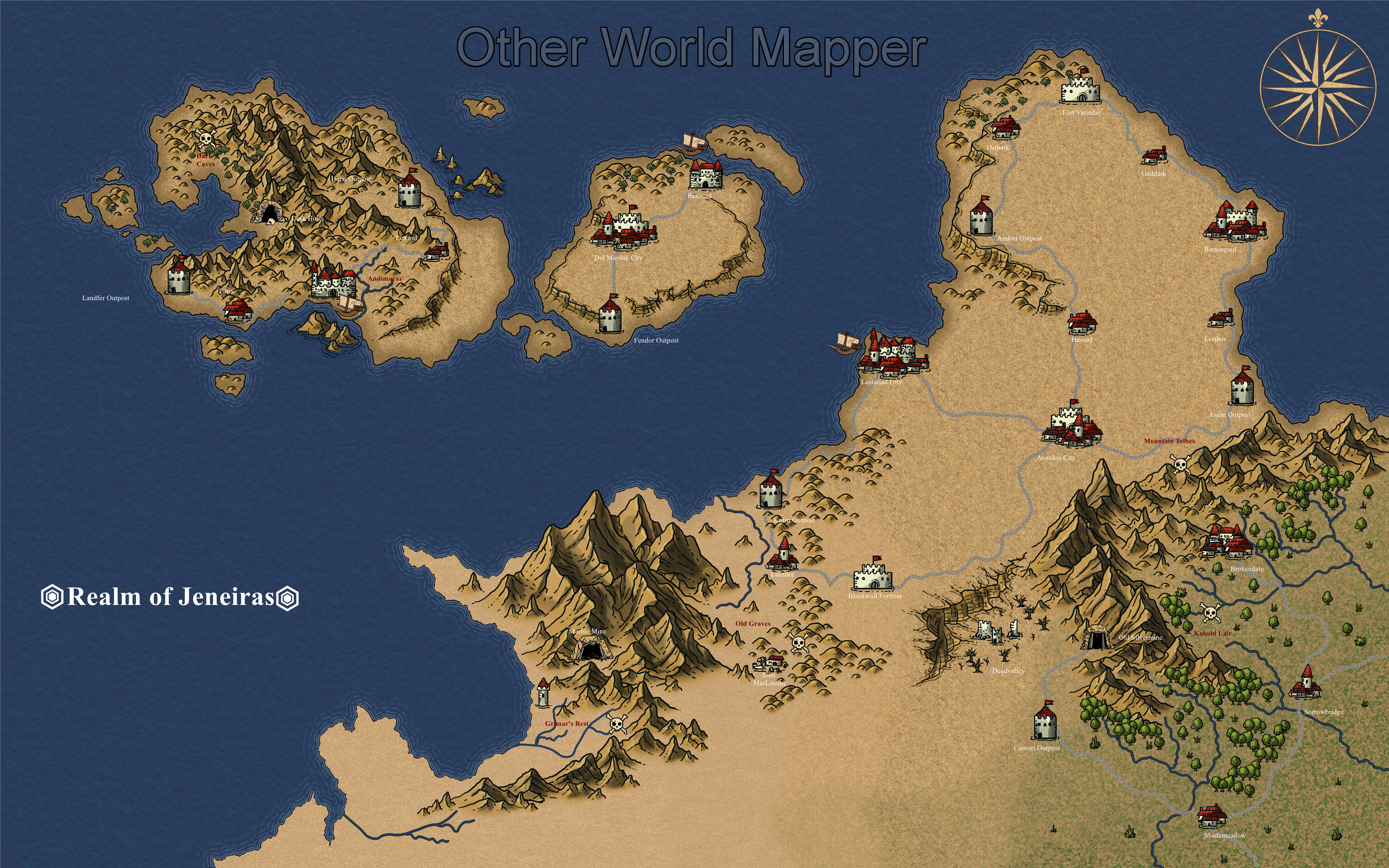 Amazing Other World Mapper