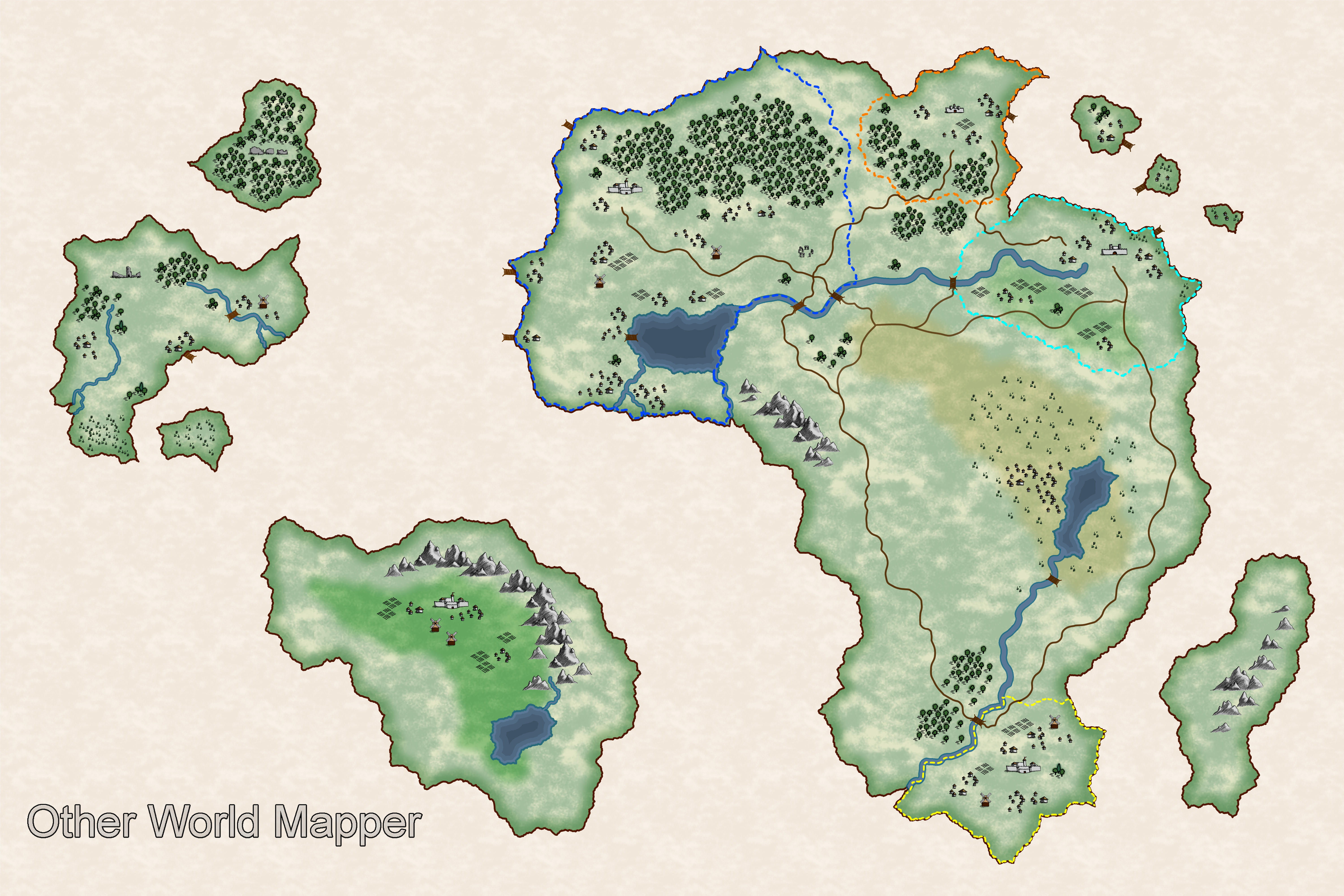 Other world mapper gallery map 1 sciox Images